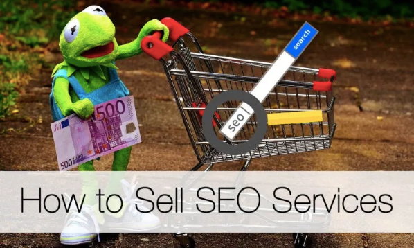 I sell SEO services