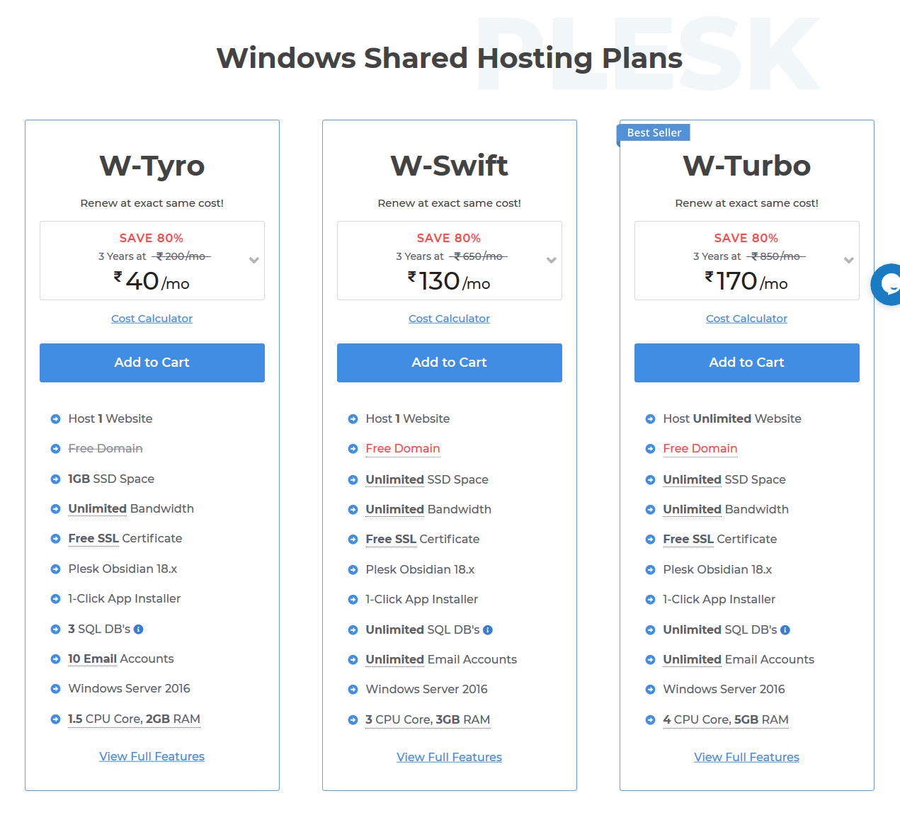 Web hosting l Windows hosting